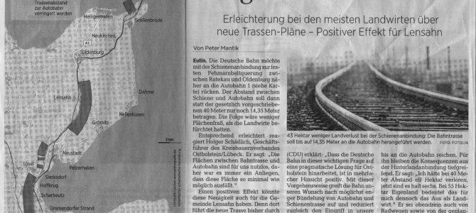 Neue Trassen-Pläne Fehmarnbeltquerung – Feb. 2017
